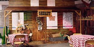 cowboy temafest firmaarrangement