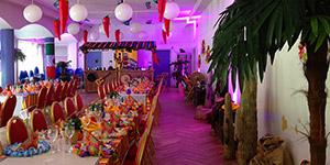mexikansk temafest firmaarrangement