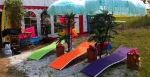 beach party temafest sommerfest