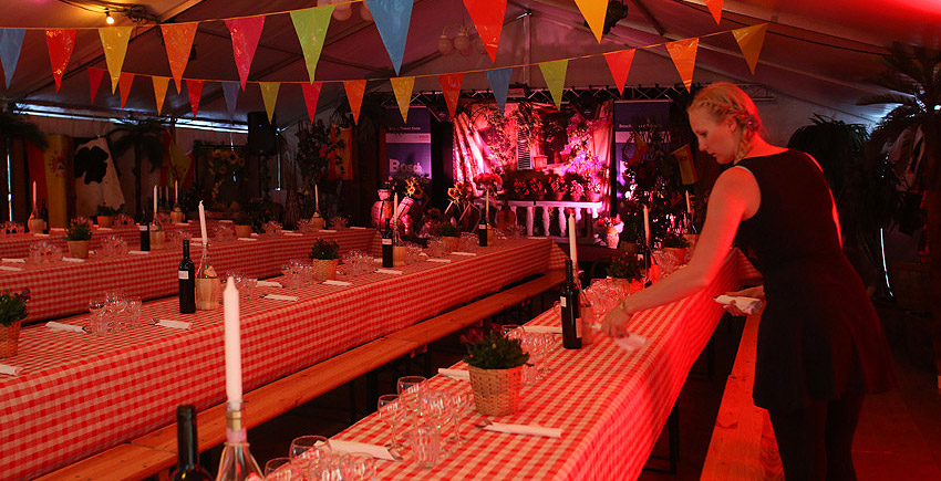 spansk fest dekoration