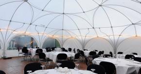 firmafest i telt
